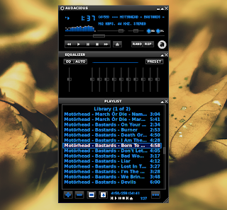 Audacious Media Player Winamp2 interface