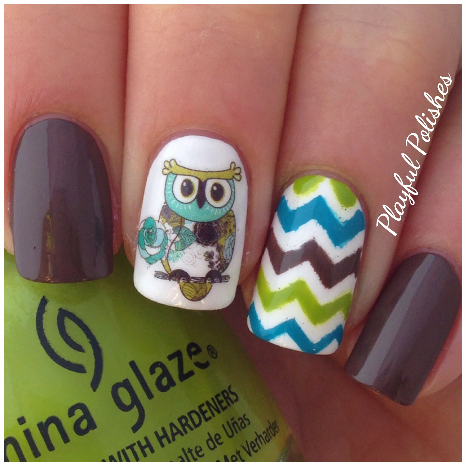 Playful Polishes Owl Nail Artwater Decals Coupon