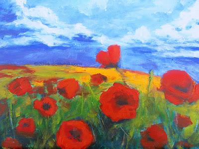 Poppies. Copyright 2014 dottyhill.com Michael MacVean