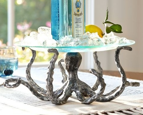Octopus designs for your home decor completely coastal