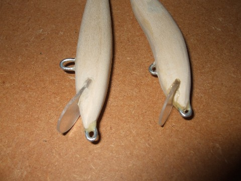 Testing my homemade lures how to make fishing lures for Fishing lure making