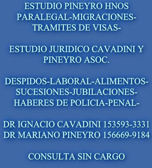 ESTUDIO JURIDICO PIÑEYRO HNOS-ESTUDIO CAVADINI Y PIÑEYRO ASOC.