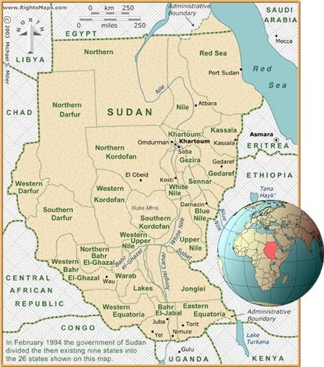 Sudan sebelum pemisahan