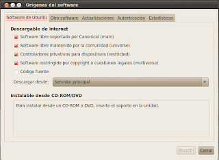 ubuntu origenes software
