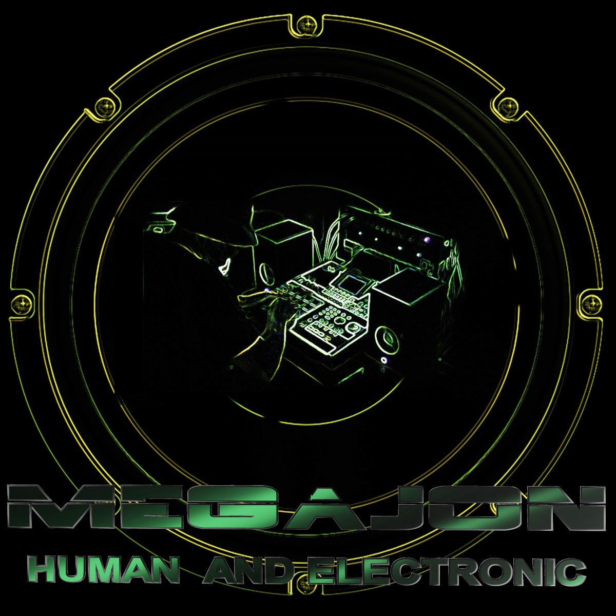 Megajon Bass - Human And Electronic (2014)