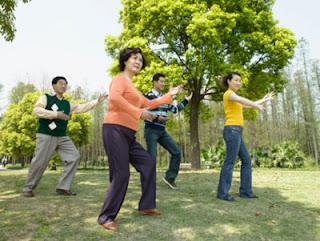 Tập dưỡng sinh vận động toàn thân, tâm thần bình an và phòng ngừa bệnh ung thư