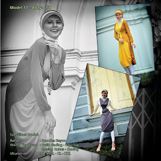 Koleksi Mazaya Muslimah Putih gading Abu tua Kuning busuk