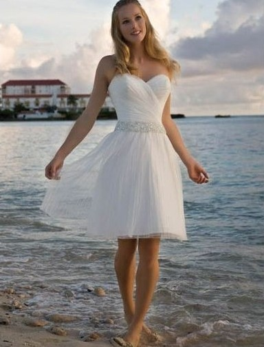 reception wedding dress