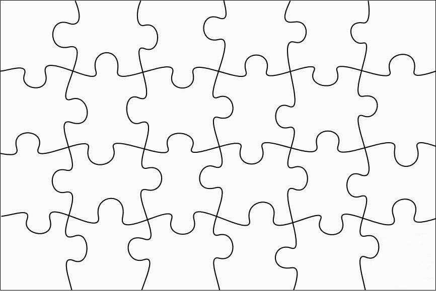Robbygurl 39 s creations diy print color cut jigsaw puzzles for Large blank puzzle pieces template