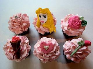 Cupcakes de la Bella Durmiente