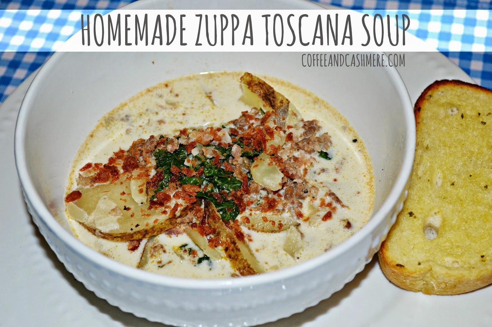 Coffee and Cashmere: Zuppa Toscana