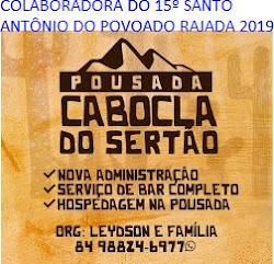 PUBLICIDADE: BAR DA POUSADA CABOCLA C.DOS DANTAS/RN