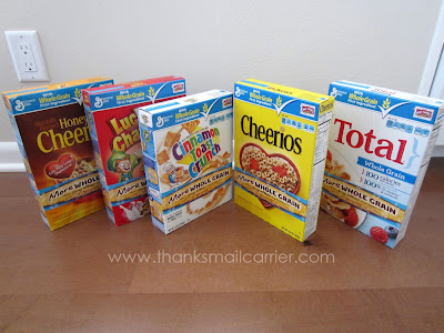 General Mills cereals