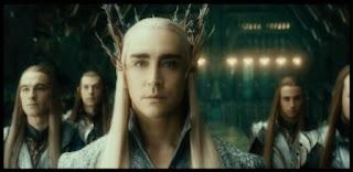 Thranduil, rey del Bosque Negro, en El Hobbit