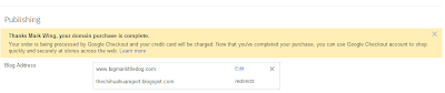 Google Apps Domain Registration - finished