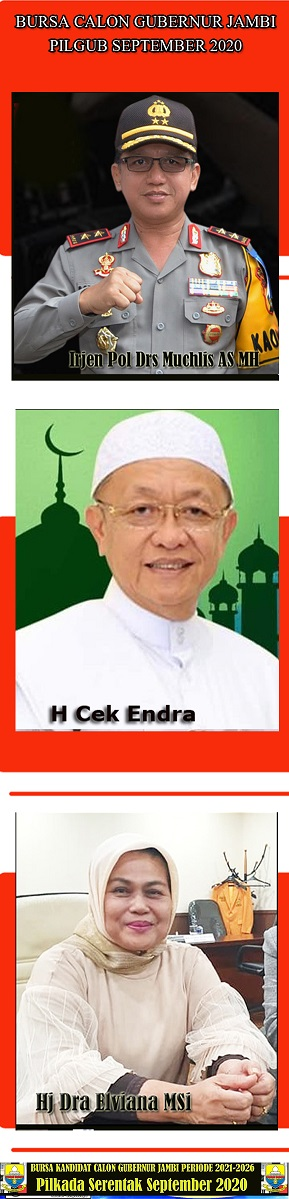 MENUJU Gubernur Jambi Periode 2021-2026