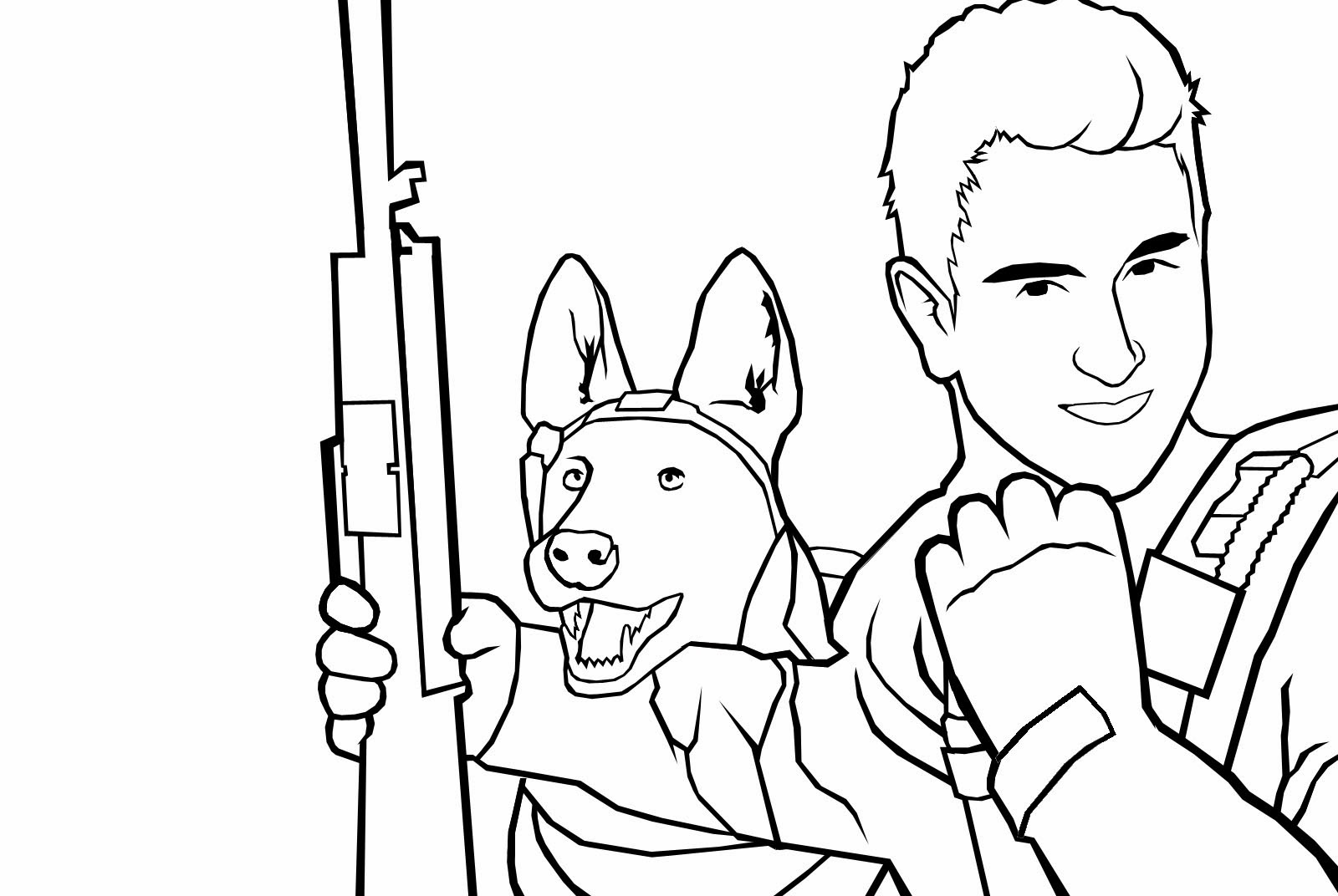 Printable call of duty coloring pages printable best for Call of duty coloring page