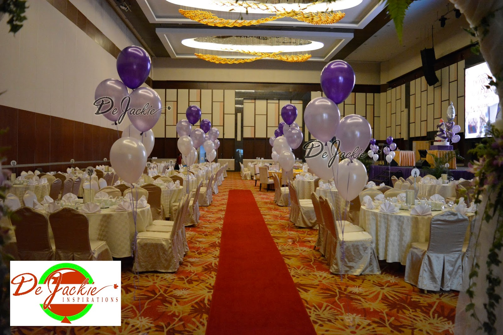 Balloon decorations for weddings birthday parties balloon wedding walkway helium bouquets junglespirit Image collections