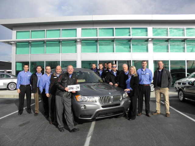 Congratulations To Bmw Usa On The 2 000 000 Bmw Produced In South