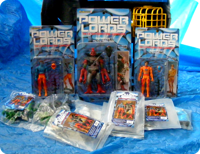 The Four Horsemen's Power Lords Action Figures
