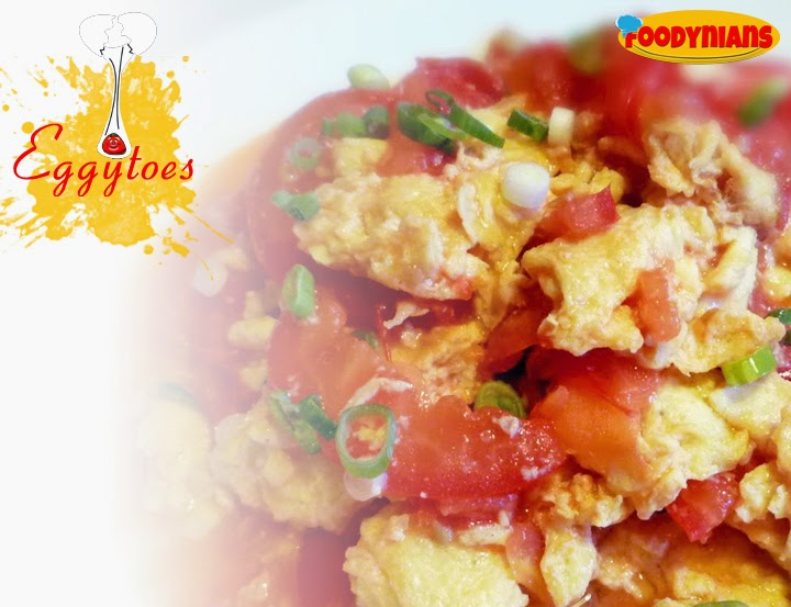 Quick-egg-recipe-egg wuth tomatoes-eggytoes