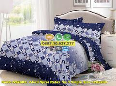 Harga V-bed Sprei Relax No.3 Single Size 120×200 Jual