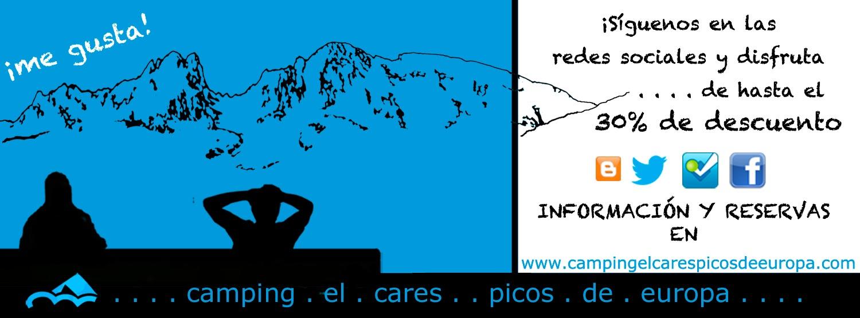 Promoción camping el Cares Picos de Europa