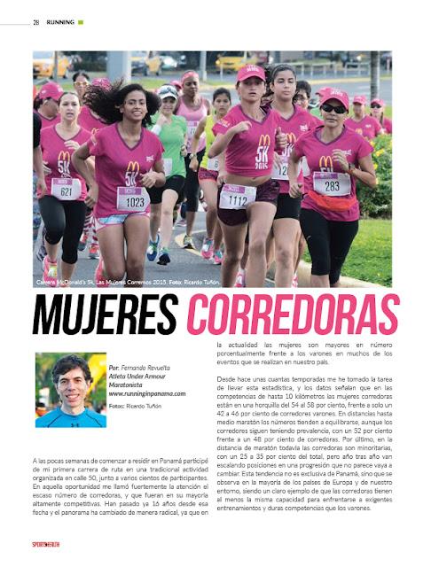 Running Femenino
