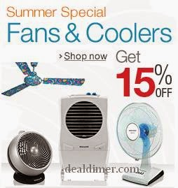 Fans & Air Coolers upto 60% off