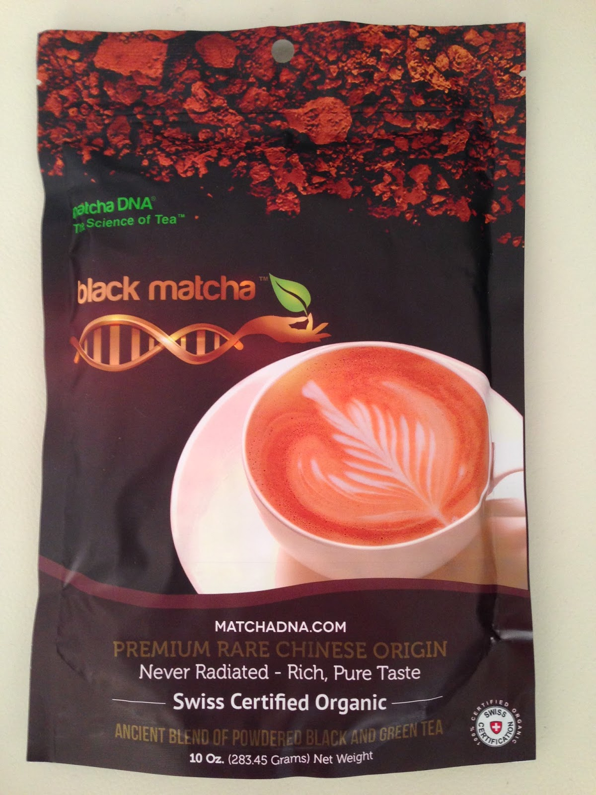 Black Matcha DNA Tea