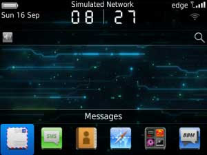 Tema BlackBerry 9220 - Digital Trend