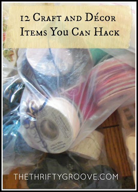 12 Craft and Décor Items You Can Hack at thethriftygroove.com
