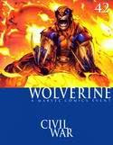 Cover of Wolverine #42: Civil War