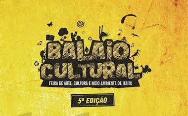 ACESSEM O SITE OFICIAL DO BALAIO CULTURAL, 5ª EDIÇÃO.