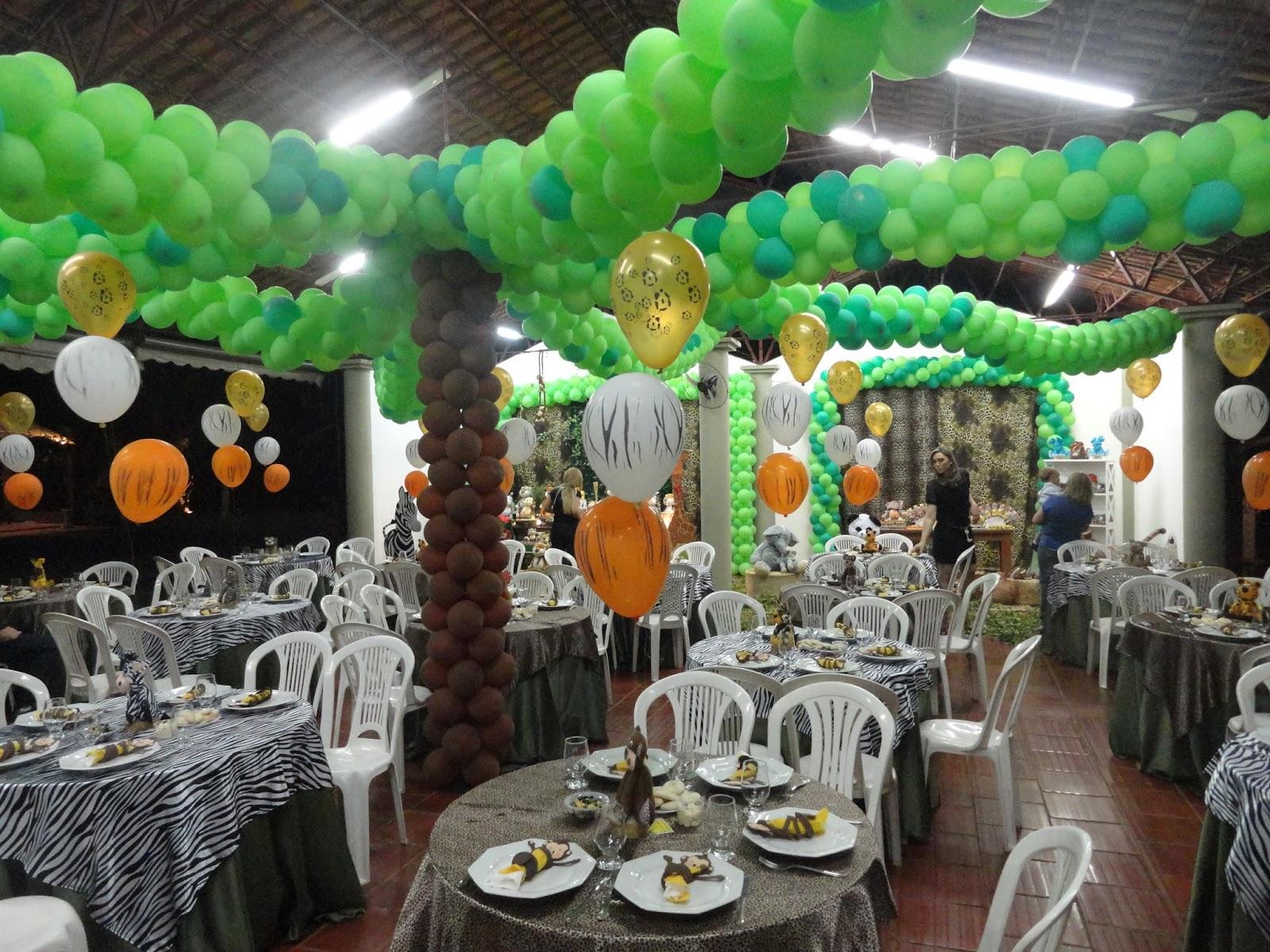 decoracao festa safari: Decoração infantil TEM FESTAS- 34236880: Safari – Mesa Dupla
