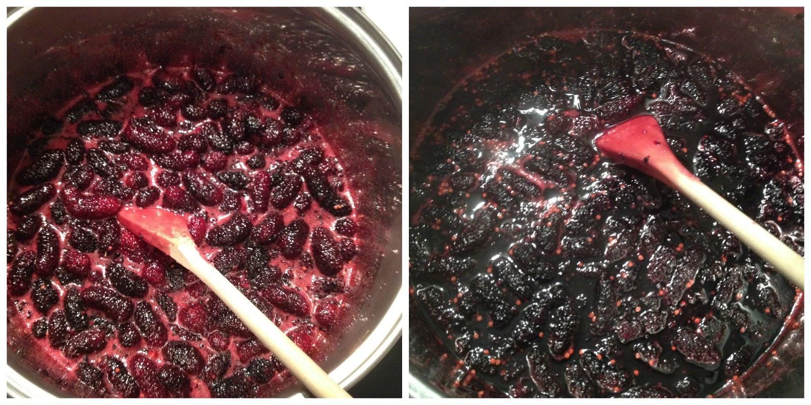 how to make mulberry jam recipe