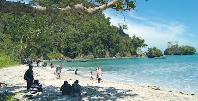 Nusakambangan beach