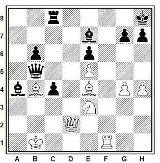 Problema ejercicio de ajedrez número 737: Lanka - Moscovich (Riga, 1980)
