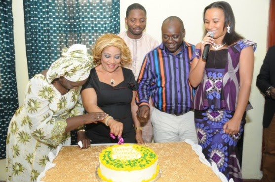 Ngozi Nwosu Getting Stronger, Celebrates 50th Birthday with Nollywood Acts -pictures chiomaandy.com