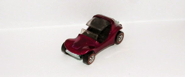 magenta Hot Wheels Sand Crab