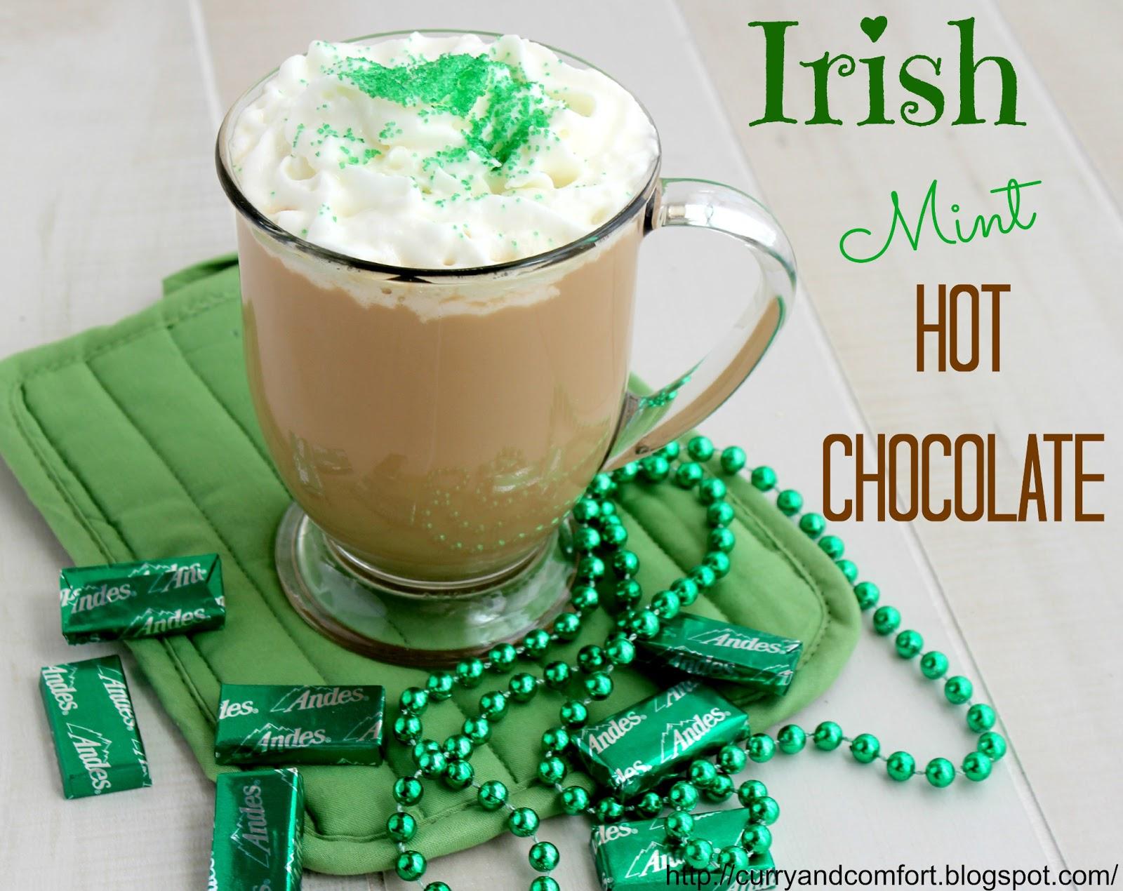 Kitchen Simmer: Irish Mint Hot Chocolate