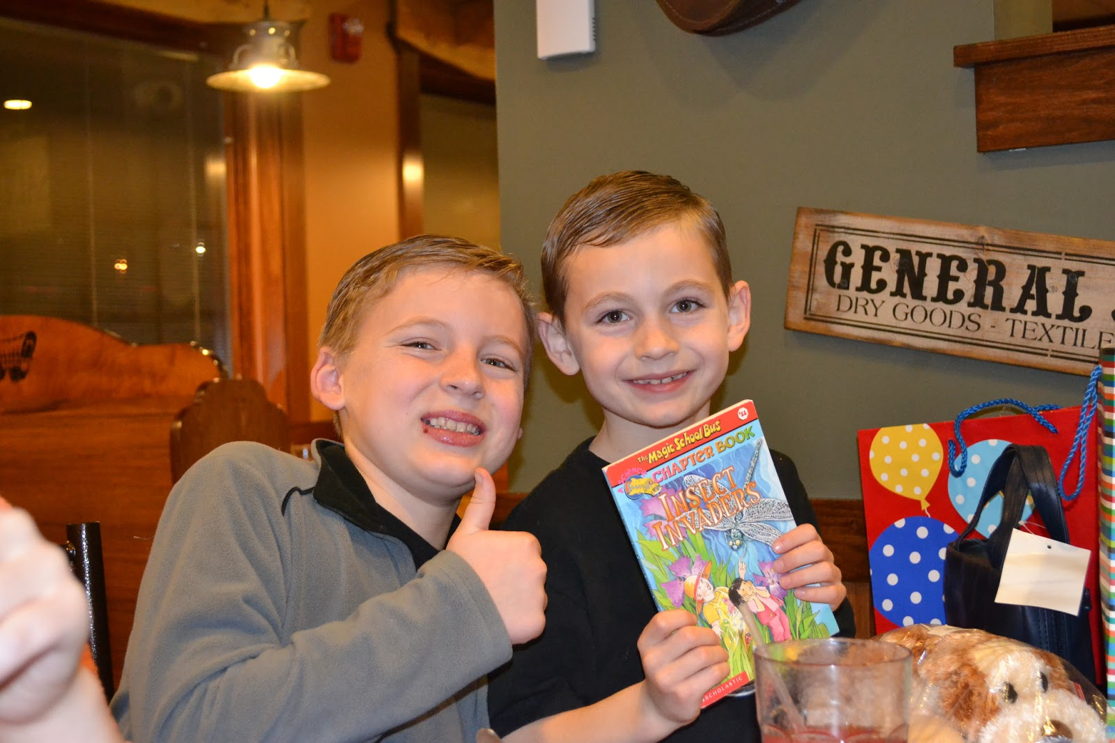 Jeremiah and rebecca morgan calebs birthday at pizza ranch over christmas caleb lost his favorite stuffed animal a fluffy dog of course a dog named max publicscrutiny Choice Image