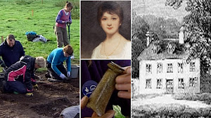 Archeological Dig Unearths Artifacts of the Austen Family