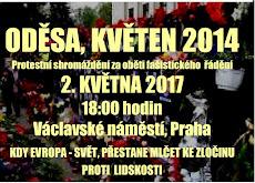 Oděsa - nepotrestaný zločin - pozvánka na demonstraci