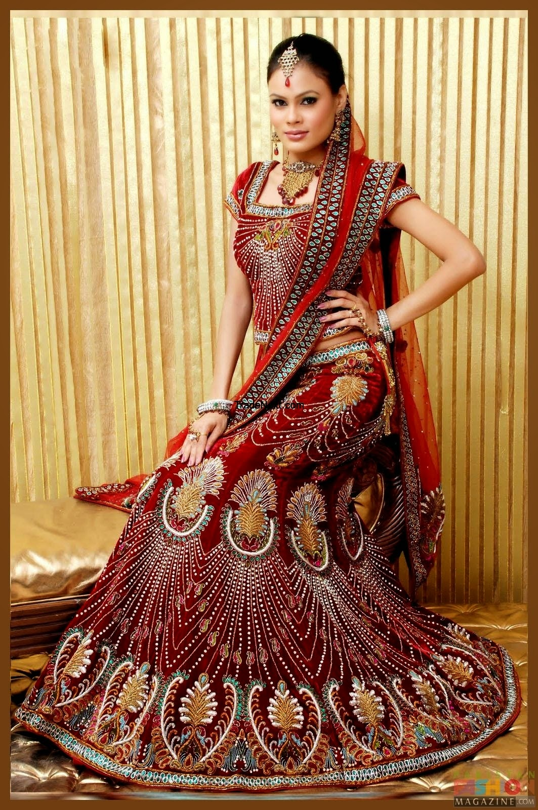 New Bridal Wedding Dresses Collection Wallpapers Free Download