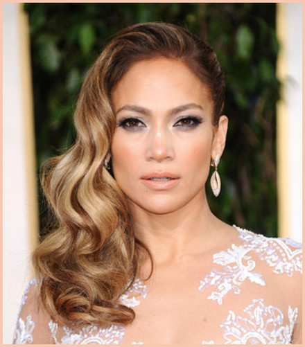 Jennifer Lopez Best Hairstyles Of 2013 Golden Globes