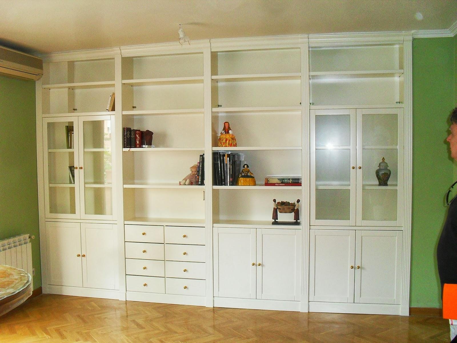 Librerias a medida madrid muebles librerias lacadas de - Librerias a medida en madrid ...