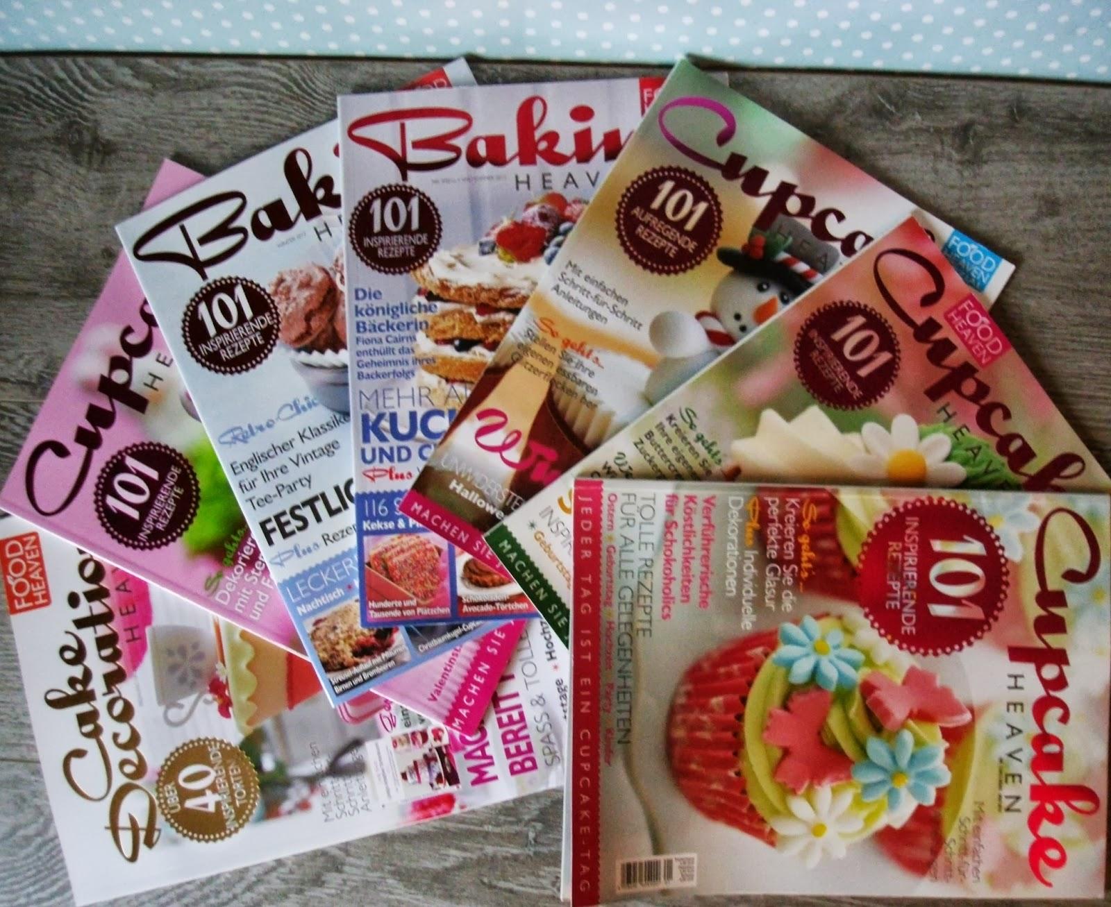 Torten Dekorieren Zeitschrift miss blueberrymuffin s kitchen ein paar süße seiten
