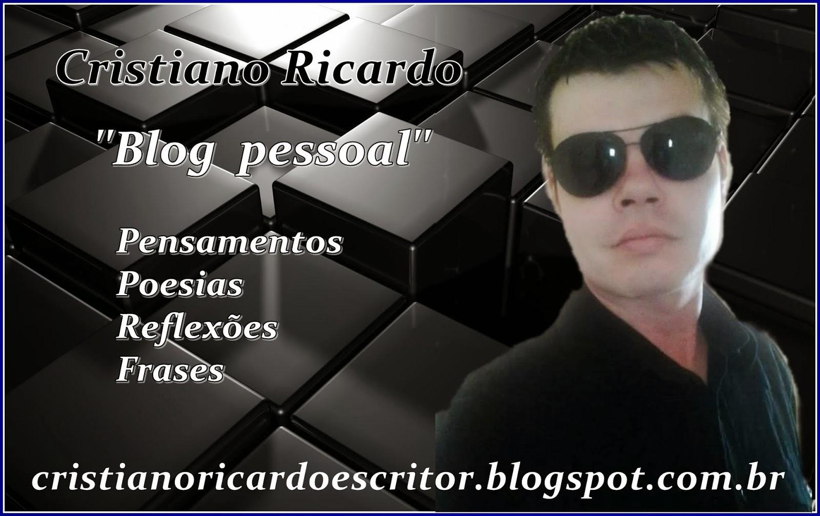 Blog Pessoal Cristiano Ricardo