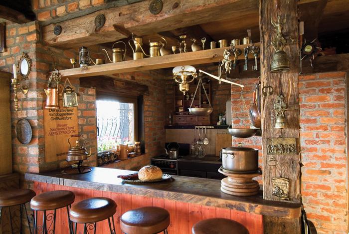 Estilo rustico mas cocinas rusticas for Adornos para bares rusticos